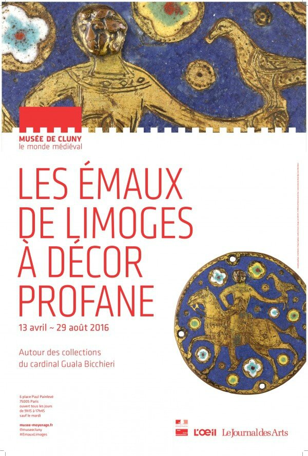 Les Émaux de Limoges à décor profane au musée de Cluny
