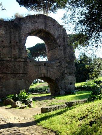 Rome Arc sur le Palatin mai 2012