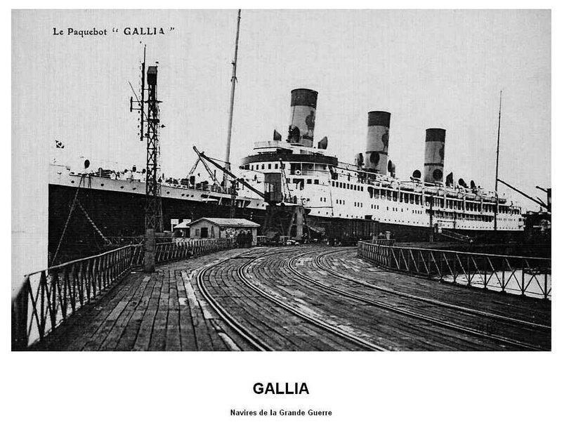 Gallia navire de guerre