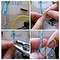 😊 comment remplacer les noeuds des élastiques des midori ?