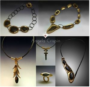 CollectionGalets_Bronze_Angela Crispin Jewelry