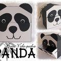 Vide-poche panda