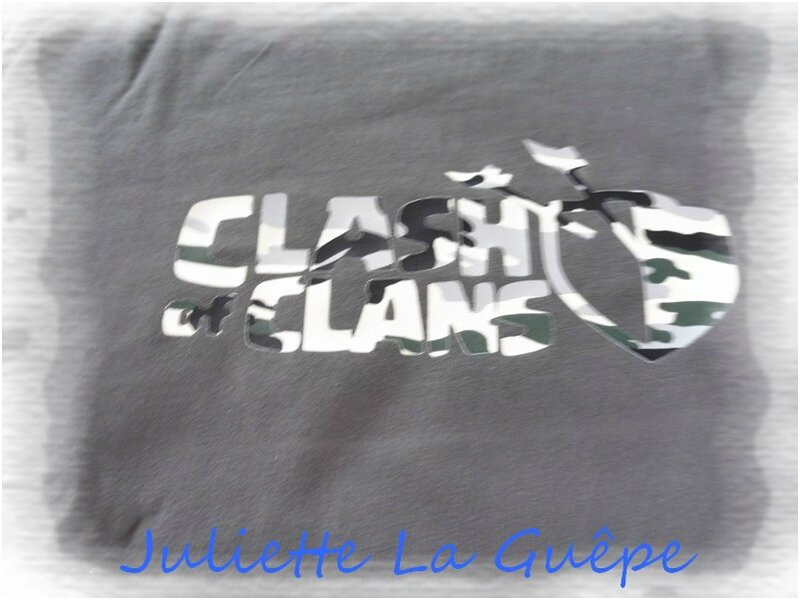 logo clash of clans gris camoufflage 1
