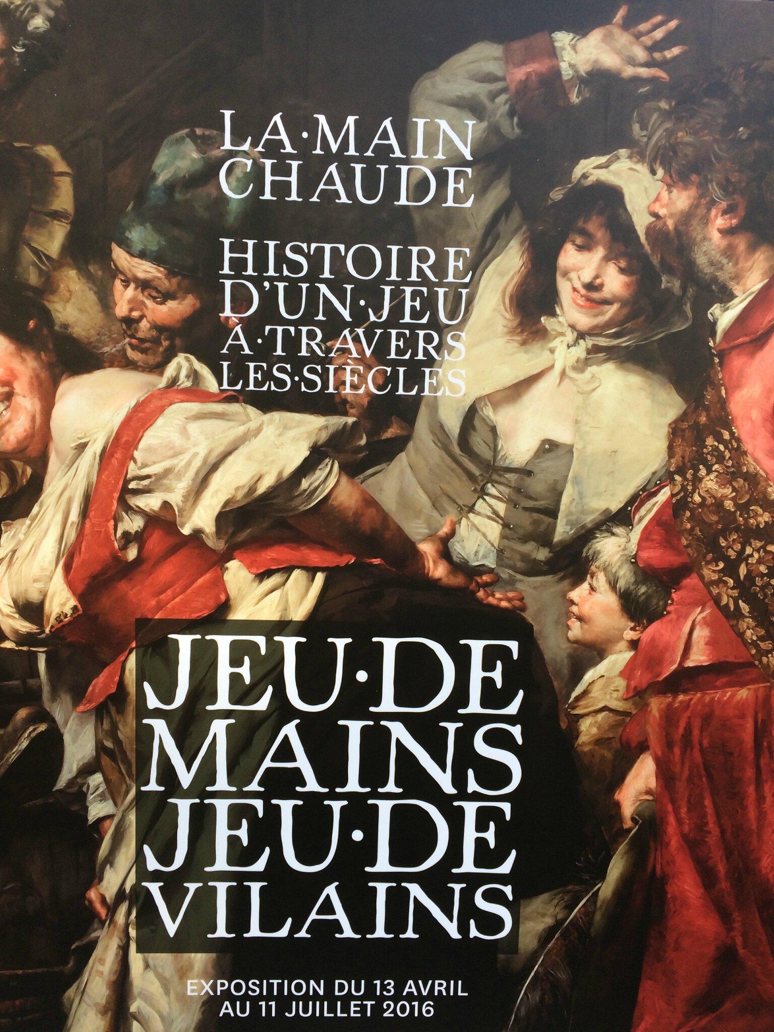 La Main chaude, Jeu de Mains, Jeu de Vilains au Musée Roybet
