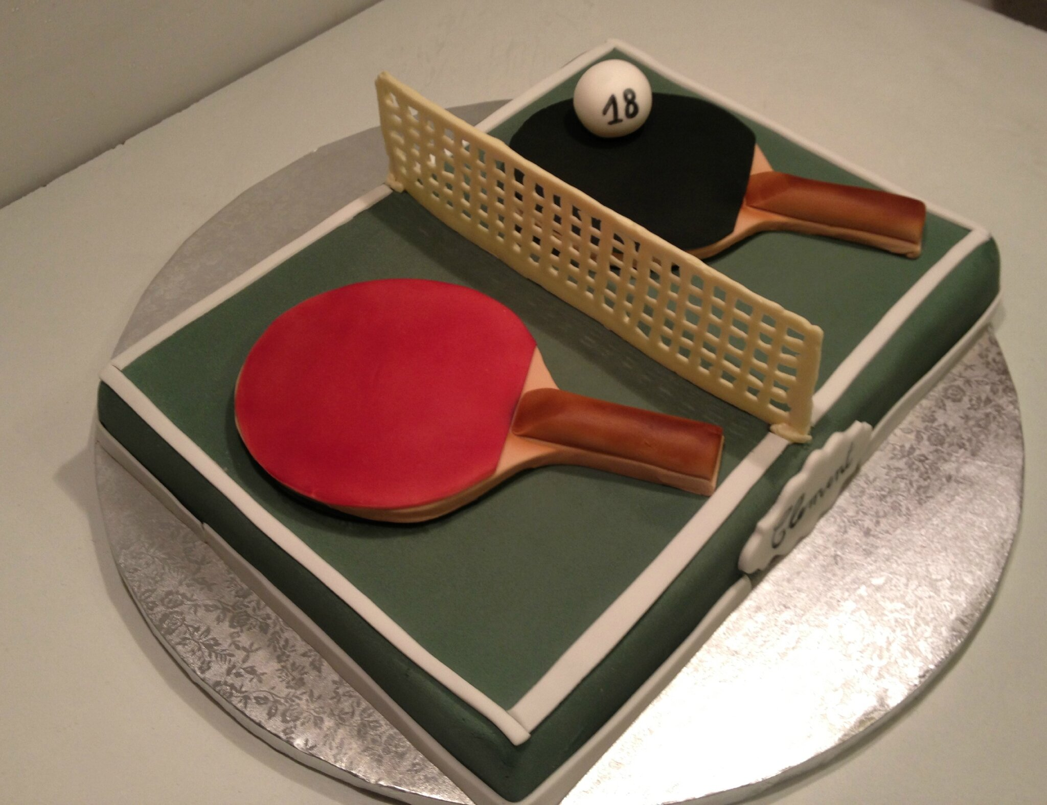 Gâteau Ping pong