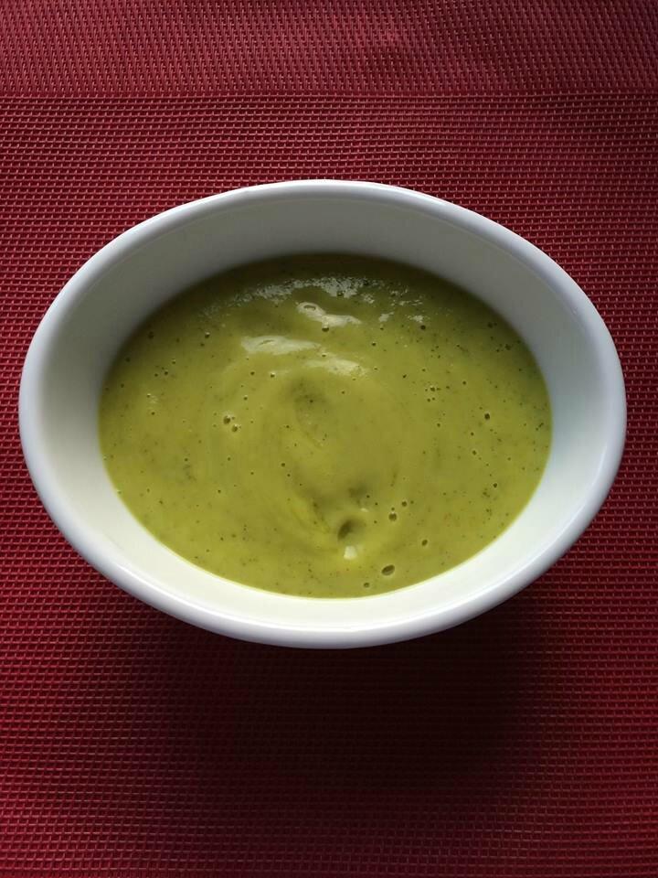 Crème de panais au curcuma