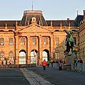 façade château Lunéville