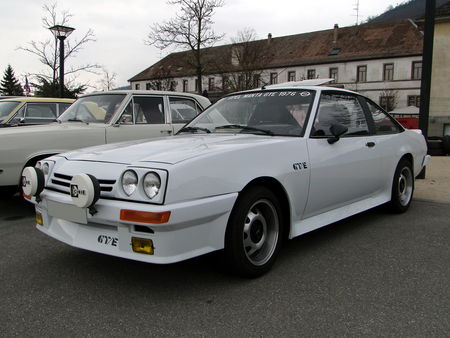 OPEL Manta GTE (serie B) 1982 1987 Bourse Echanges Autos Motos de Chatenois 2010 1