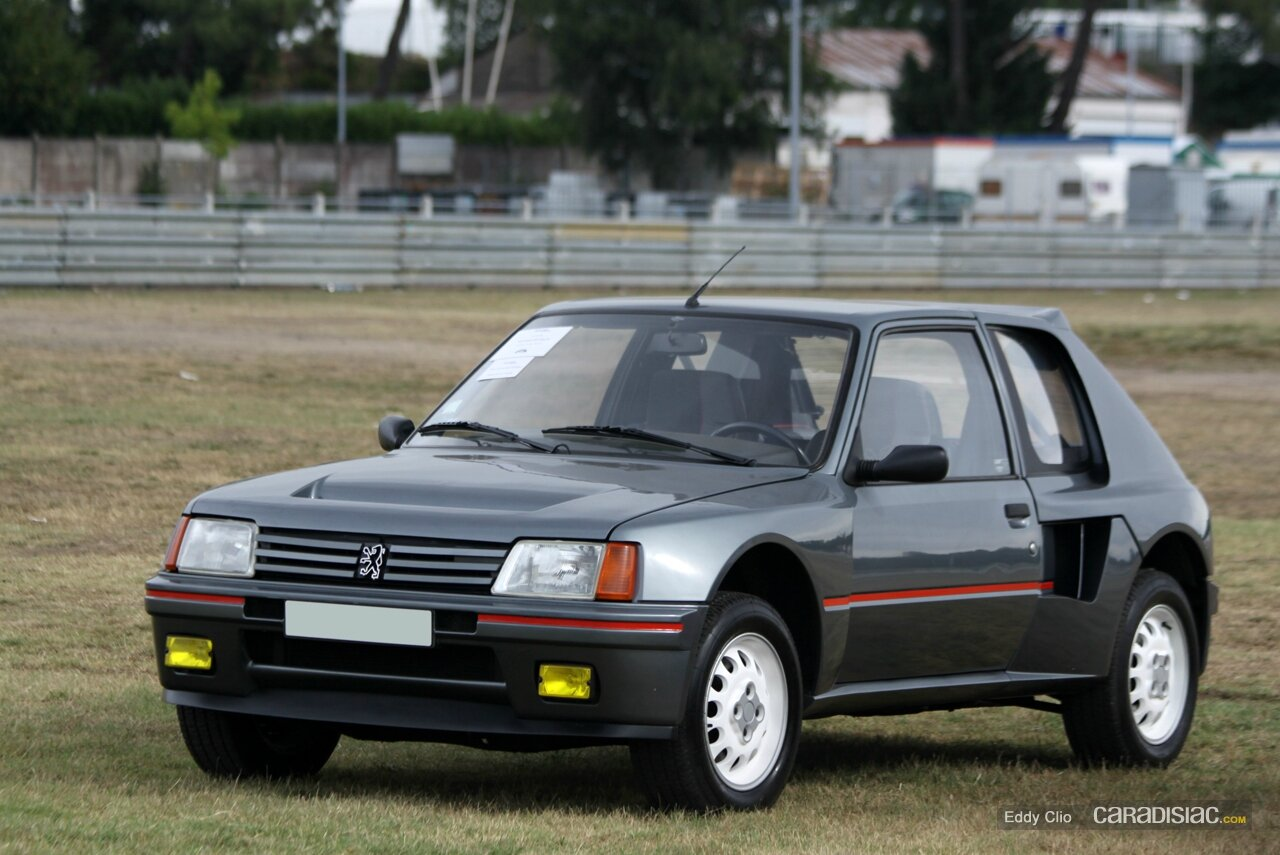 peugeot 205 turbo 16 1984 1984 zoom auto blog. Black Bedroom Furniture Sets. Home Design Ideas