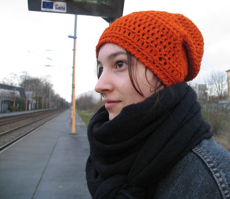 slouch orange Eva 2