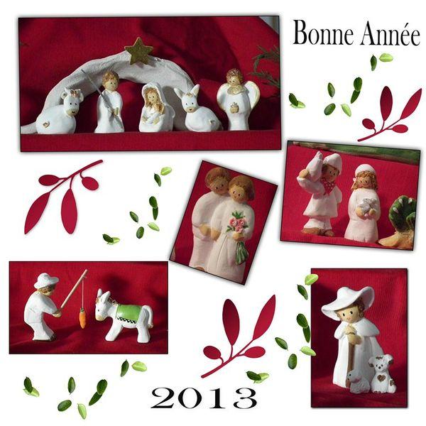 Bonne année 2013 santons (Copier)