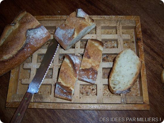 couper le pain