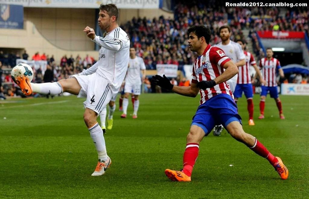 Atlético Madrid Real Madrid 2 - 2 Cristiano Ronaldo