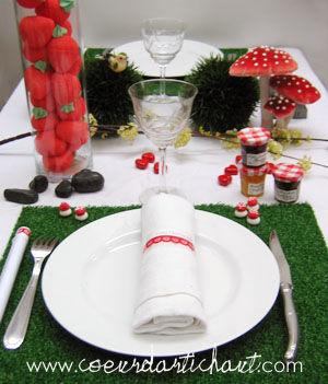 Decors tables gourmandes d cors de f te ou d co de tous - Decoration table reveillon jour de l an ...