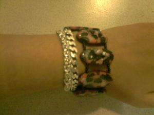 bracelet multiforme porté