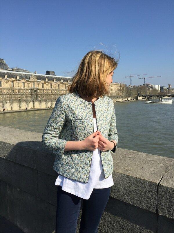 Veste matelassée mésange (3)