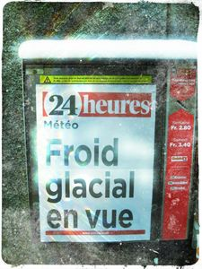 froid glacial