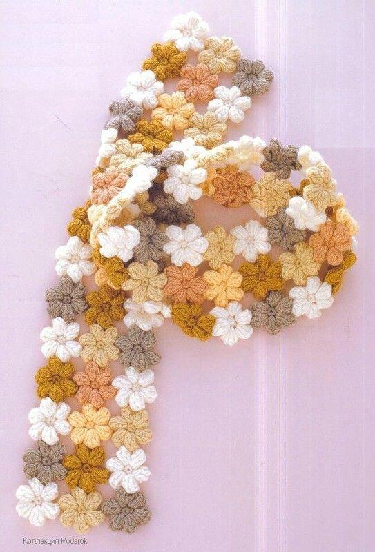 echarpe mollie flower
