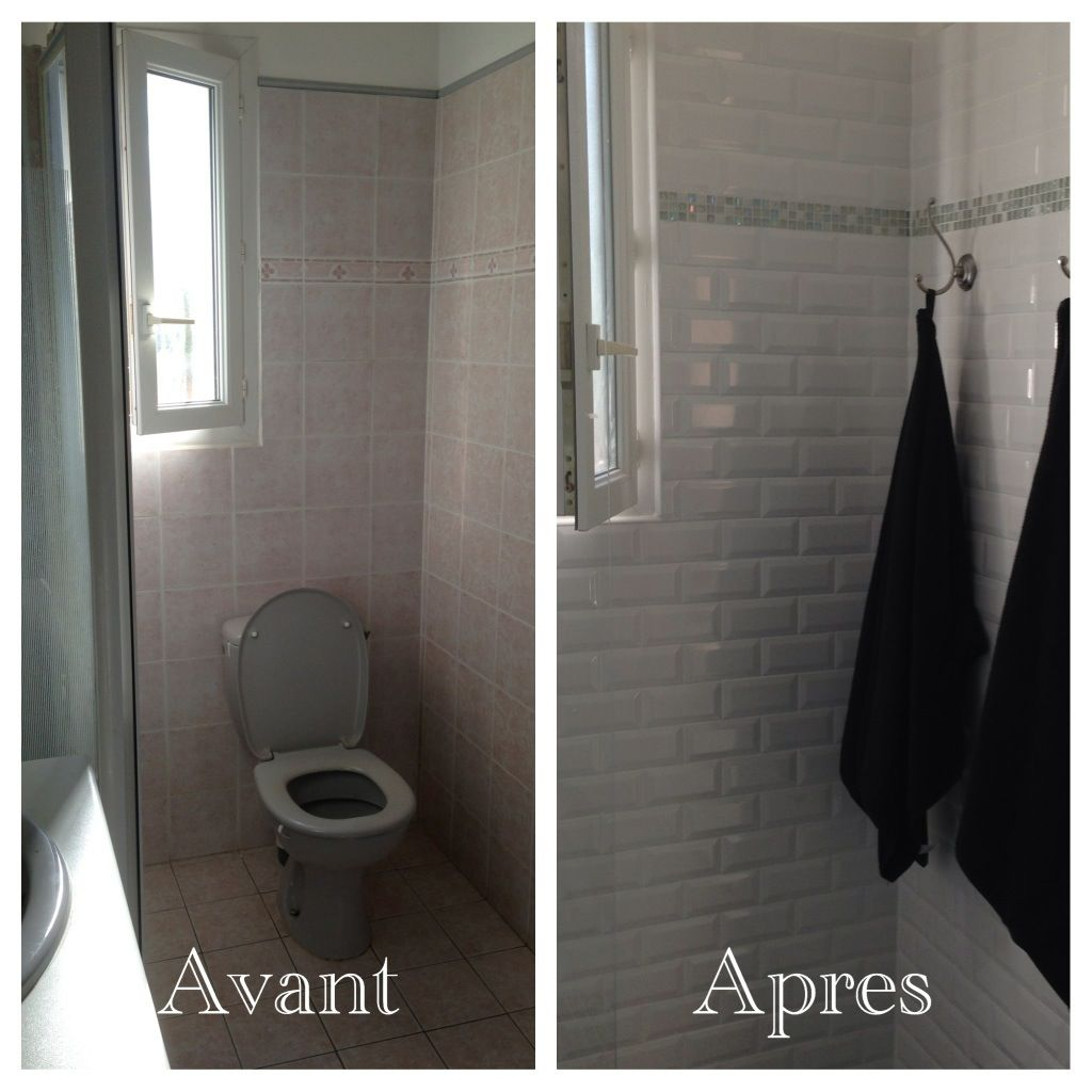 Faience salle de bain solutions pour la d coration for Leroy merlin carrelage metro blanc