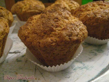 muffinscompotepommecannelle