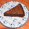 Fondant au chocolat, aux noisettes et aux amandes