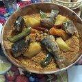 Et si on allait faire un tour au marché le couscous marocain aux poissons