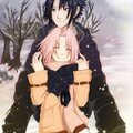 Snow_Color___Sasusaku_by_arriku