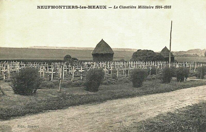 Neufmontiers cimetière militaire 1914-1918 (2)