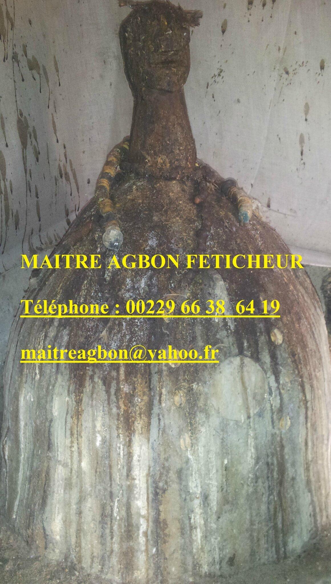 LA MAGIE NOIRE (FÉTICHES du marabout AGBON)