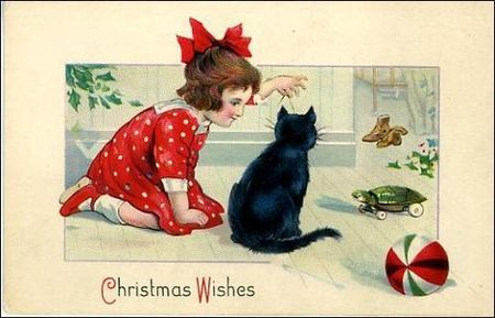 noel_christmas_card_black_cat_little_girl_toys