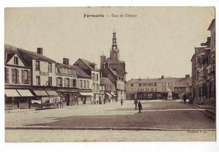 76 - FORMERIE - Rue de Dieppe
