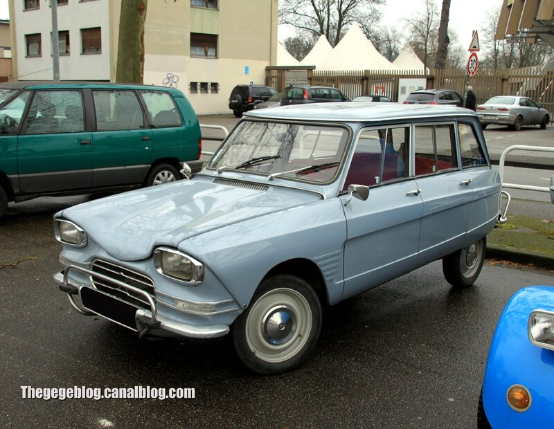 Citroen ami 6 break (Retrorencard fevrier 2014) 01