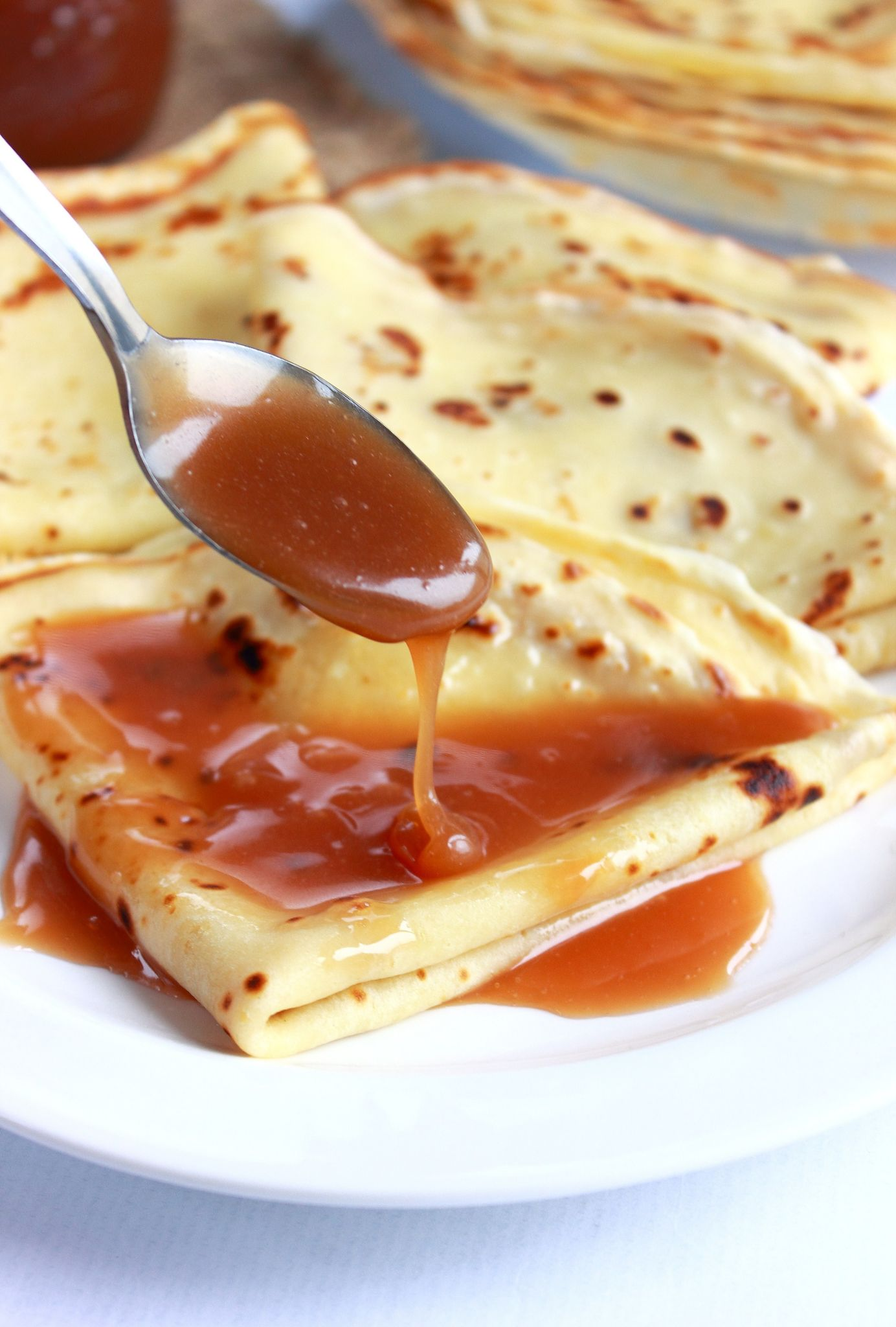 Crepes With Caramel Sauce Recipes — Dishmaps