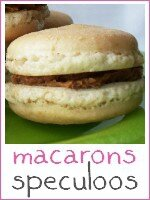 macarons speculoos - index