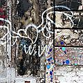 coeur ailé, bulles bleues, matières_3242