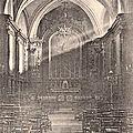 Intérieur église saint-pierrre de saint-chamond