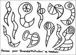 47_FORMES GEOMETRIQUES_à partir de Ensemble multicolore de Kandinsky (modèles formescernes)