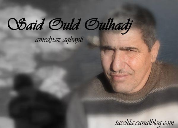 Timlilit : Tadiwennit akked Said Ould Oulhadj