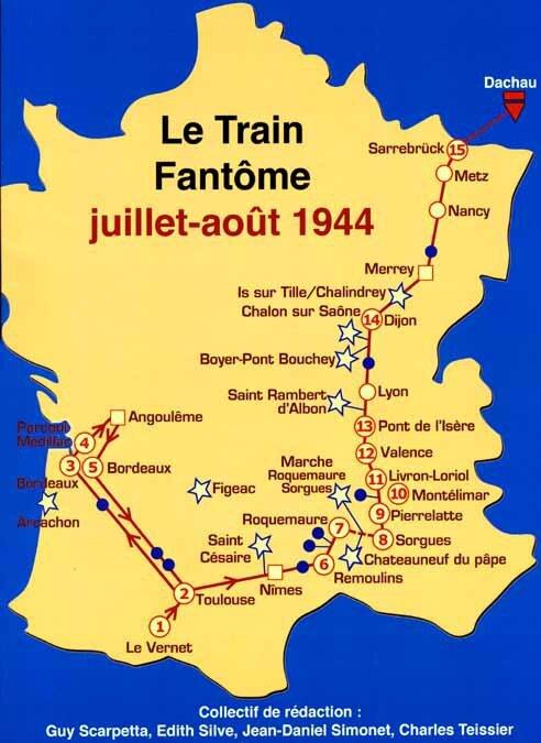 Brochure du Train Fantôme juillet 2015
