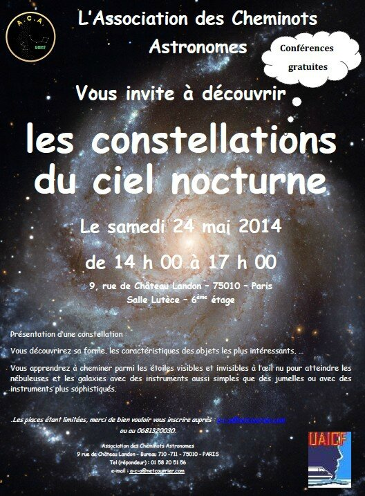 Affiche astronomes
