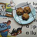 Les premiers cookies de mon fils