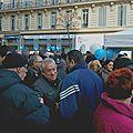 Inauguration du local de campagne de lisette narducci, 26 rue colbert dans le 2ème arrondissement de marseille