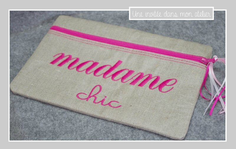 trousse-madame chic-rose fuschia