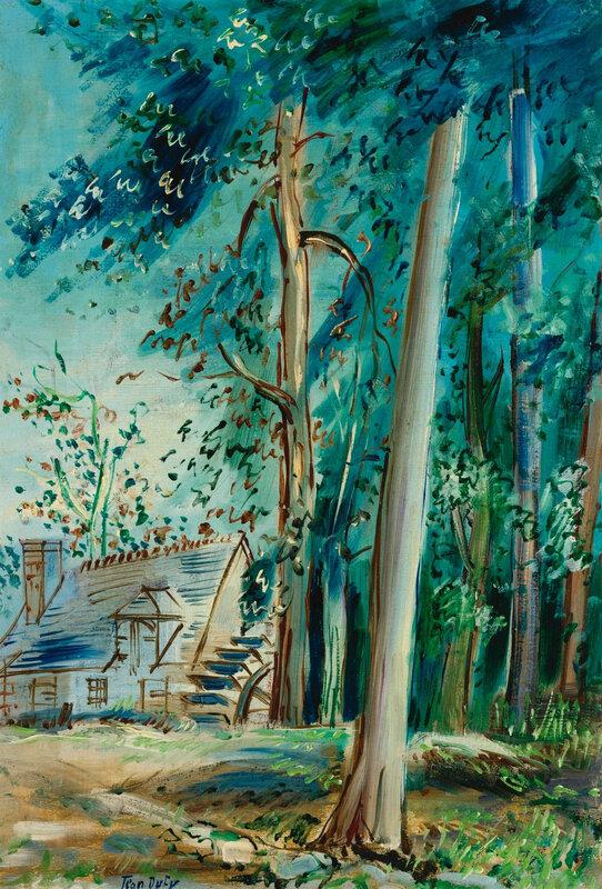 1943 - Le moulin à aubes d'Etourneau