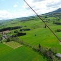 2009 05 12 Vu aérienne depuis l'ULM entre Etoile-sur-Rhône et Chez moi à Madelonnet (37)
