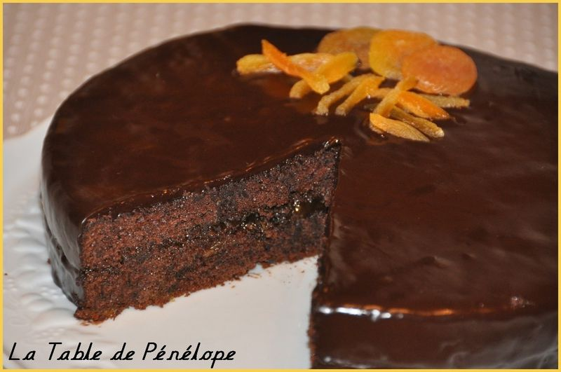 Sachertorte - La Table de Pénélope
