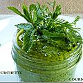 Pesto de coriandre