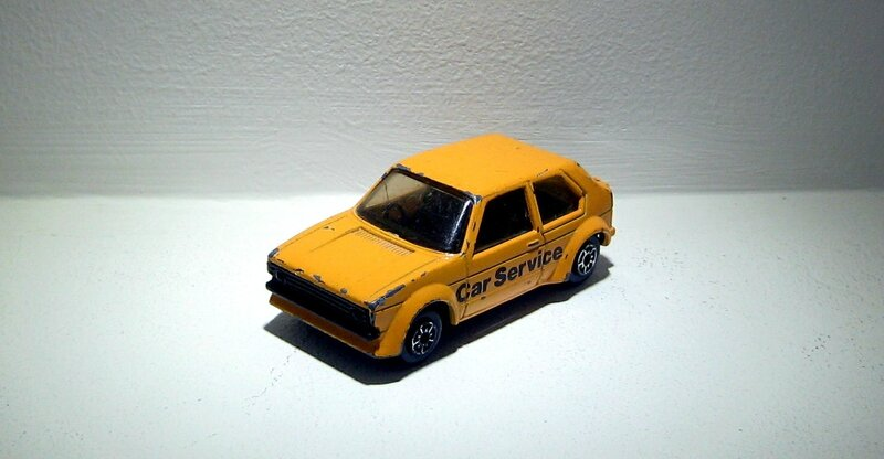 Vw golf GTI (Mc toy)