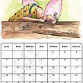 Voici le mois de mai et son calendrier