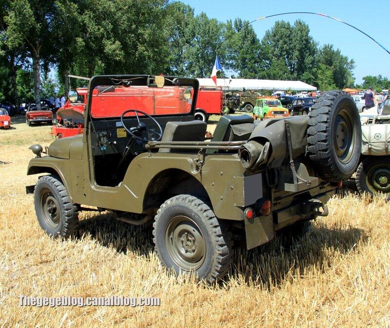 Kaiser - Jeep de 1970 (6ème Fête Autorétro étang d' Ohnenheim) 02